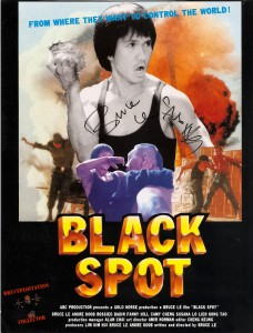 Bruceploitation_collector_Bruce Le_huang kin lung_black spot_authentic _autograph